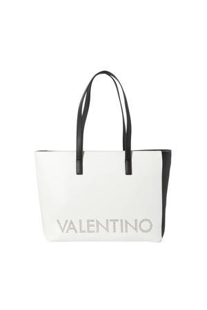 shopper Portia wit/zwart