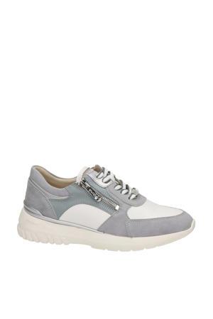 Kayla  suède sneakers grijs
