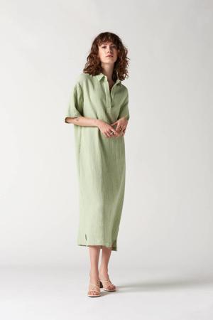 jurk Rubanier lichtgroen
