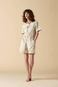 Another-Label playsuit Violette beige, Beige