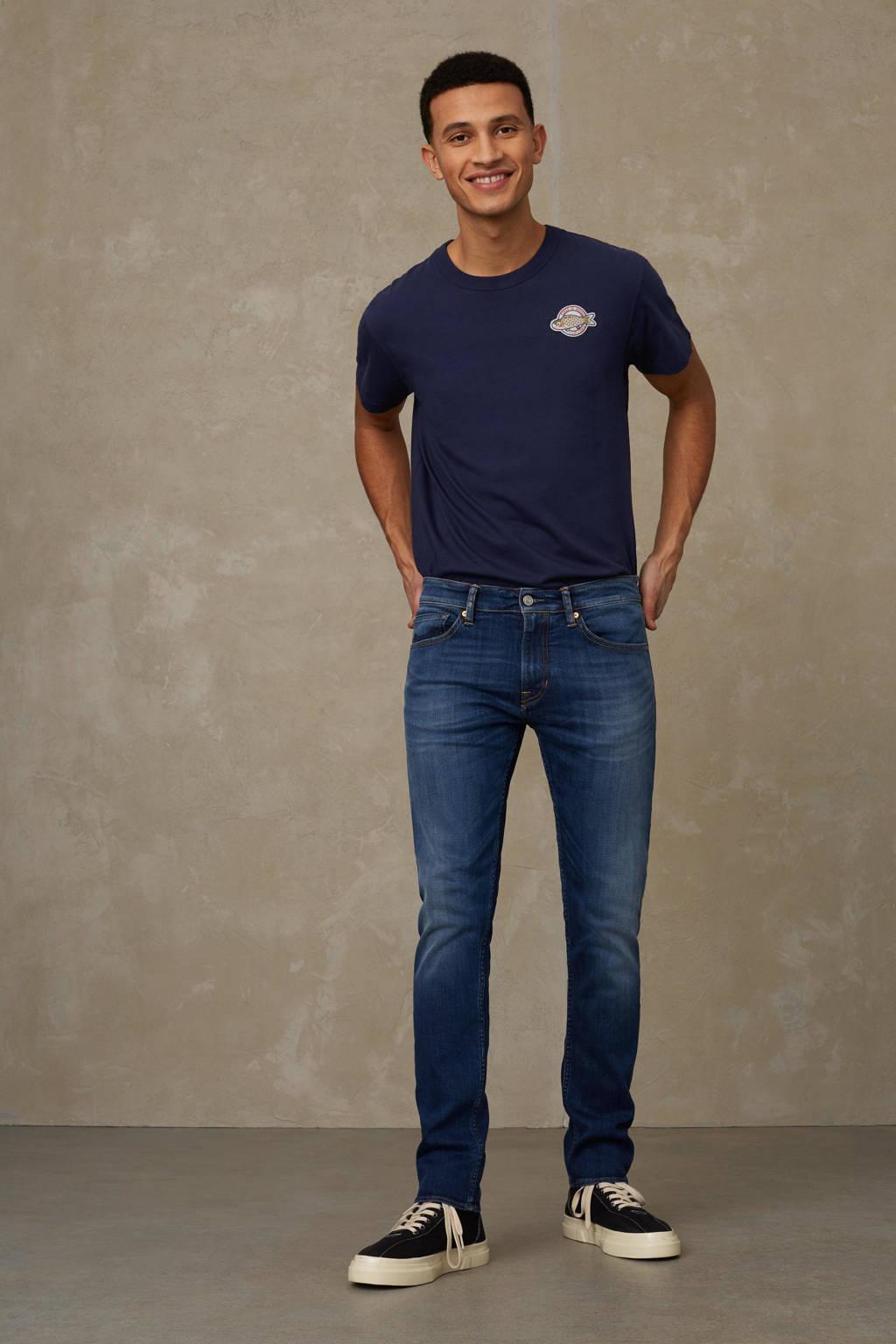 Kings of Indigo slim fit jeans John 6130 blue black used refibra, 6130 BLUE BLACK USED REFIBRA