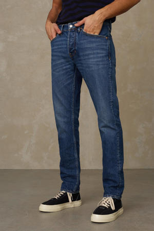 slim straight fit jeans Silvio 4058 xavier indigo worn