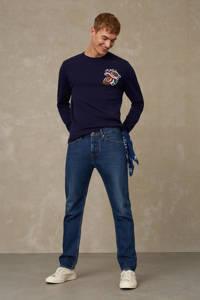 Kings of Indigo slim fit jeans John 4084 blue worn refibra, 4084 BLUE WORN REFIBRA