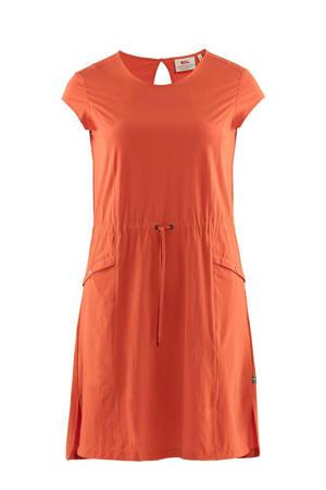outdoor jurk rood