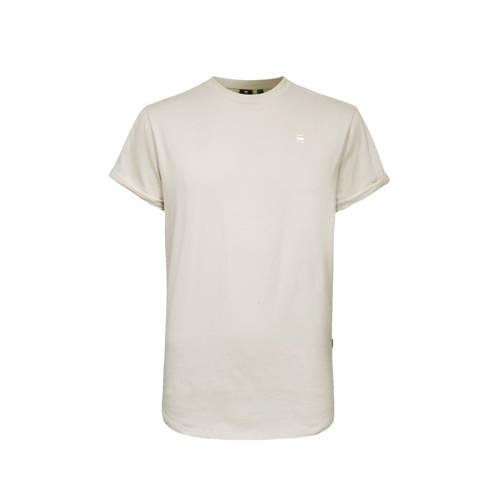 G-Star RAW T-shirt van biologisch katoen beige