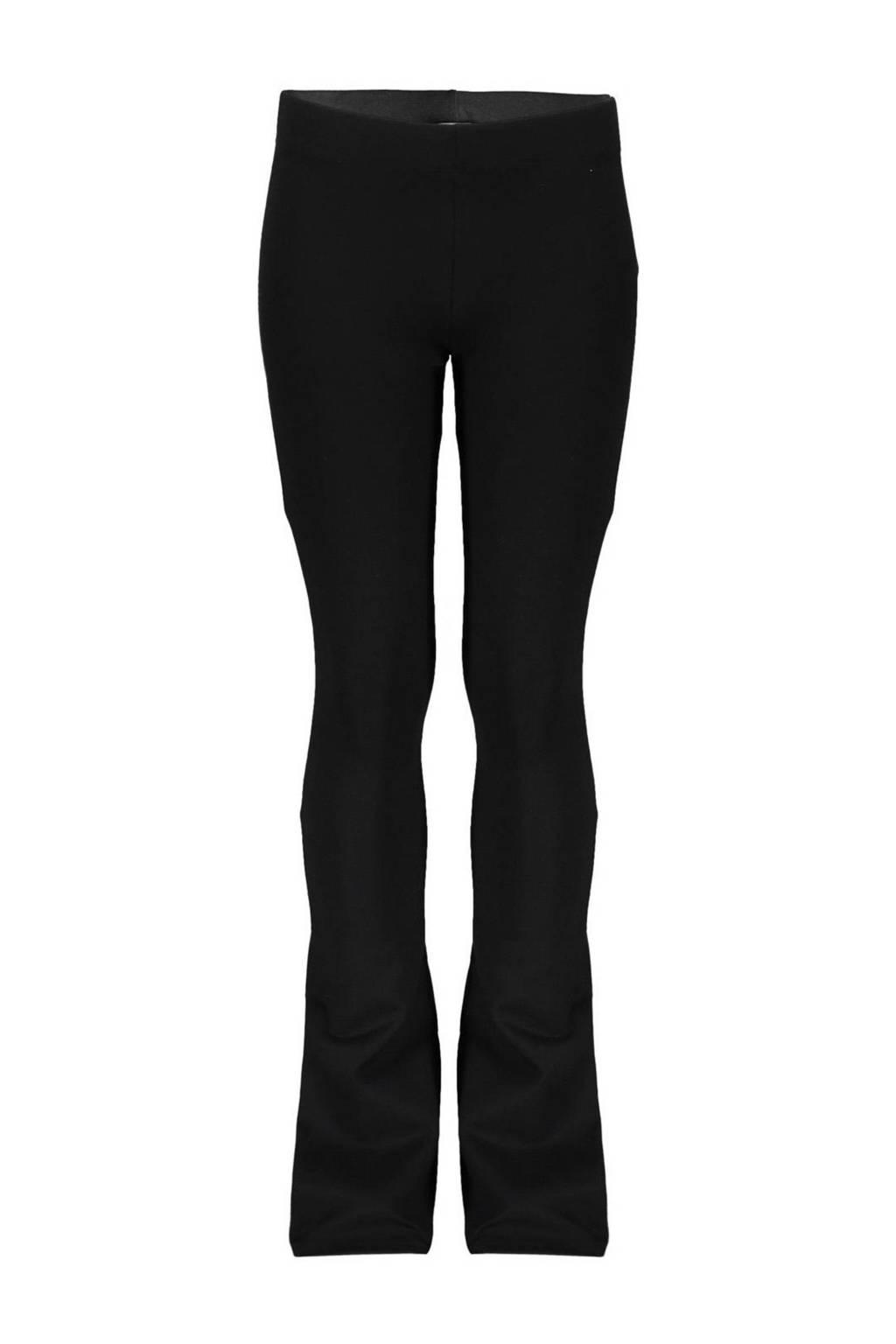 Geisha flared broek zwart, Zwart