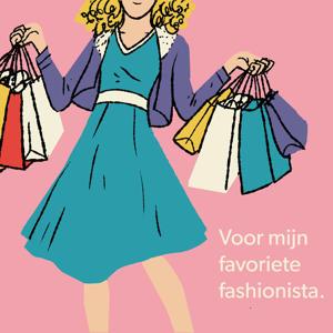 Digitale Cadeaukaart Fashionista 25 euro