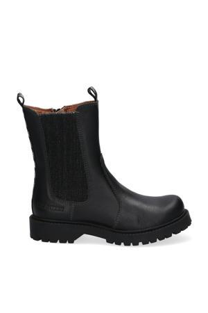 Bowie Boot  leren chelsea boots zwart