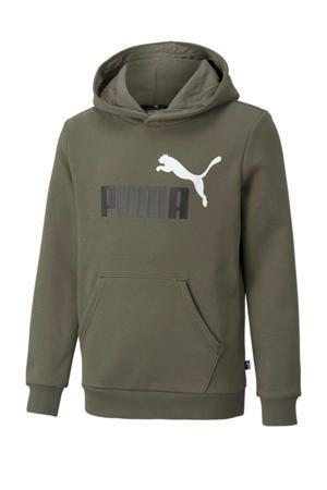 hoodie kakigroen