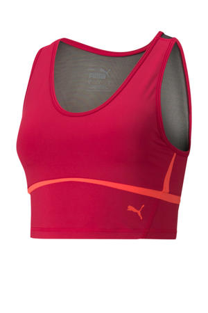 cropped sporttop rood