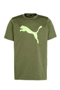Puma   sport T-shirt groen, Groen