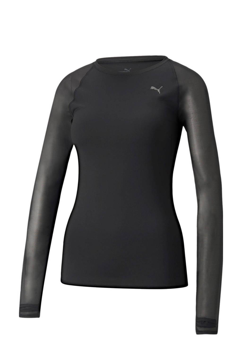 Puma sport T-shirt zwart, Zwart