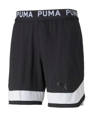 sportshort zwart/wit