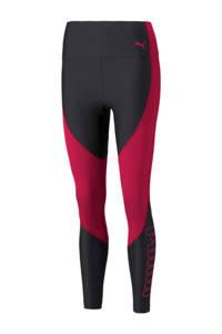 Puma sportlegging zwart/rood, Zwart/rood