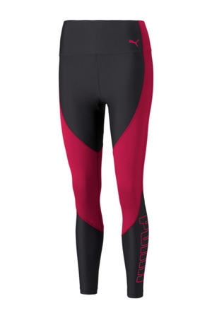 sportlegging zwart/rood