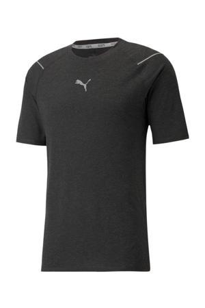 hardloop T-shirt zwart
