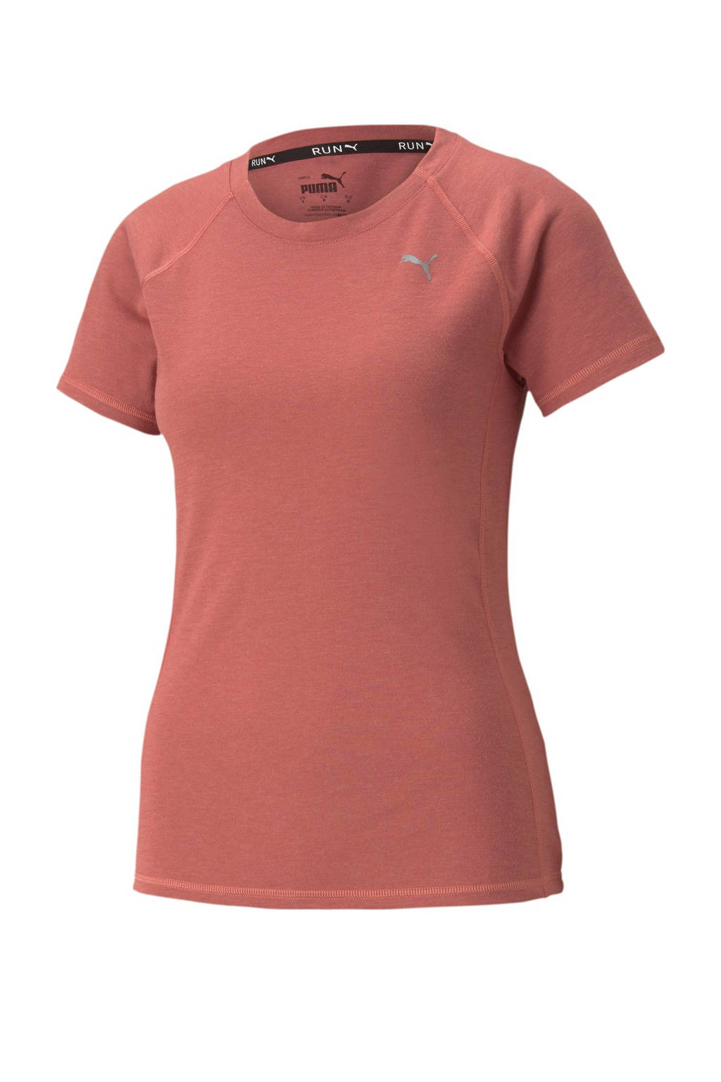 Puma hardloop T-shirt oudroze, Oudroze