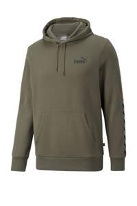 Puma hoodie met logo groen, Groen