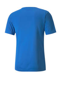 Puma Senior  sport T-shirt blauw, Blauw