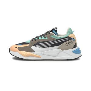 RS-Z  sneakers lichtoranje/kaki/mintgroen