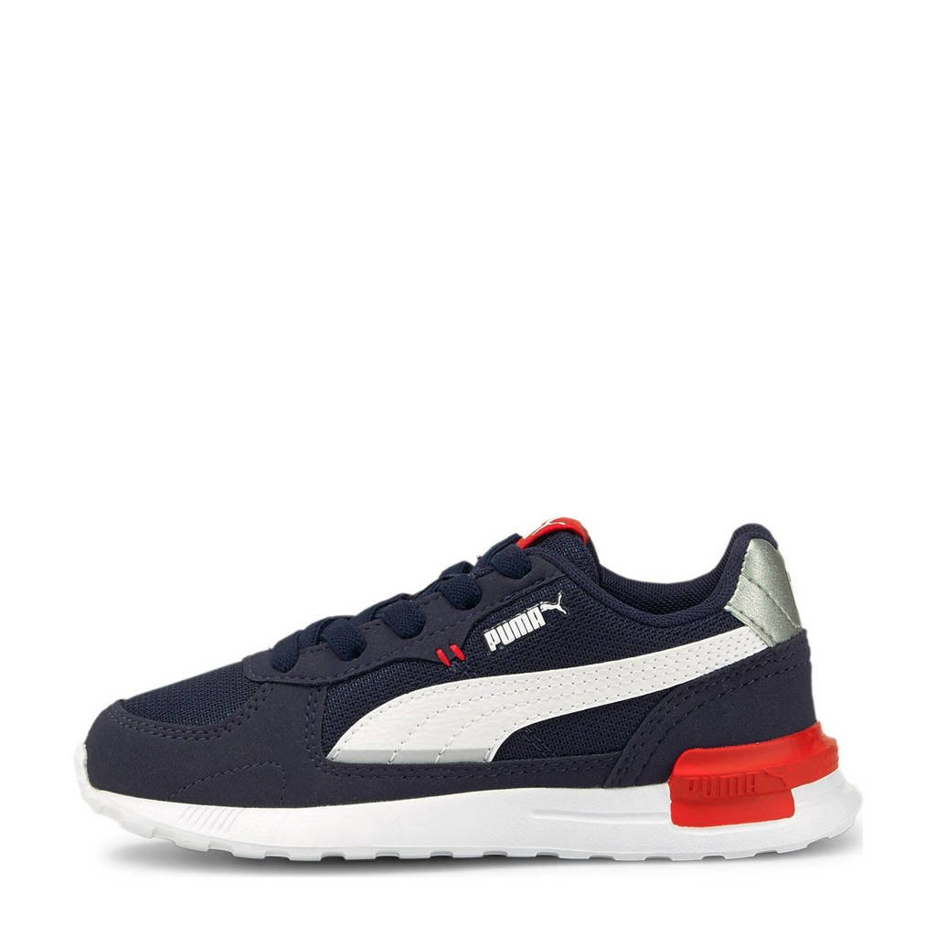 Puma Graviton  sneakers donkerblauw/wit/rood, Donkerblauw/wit/rood