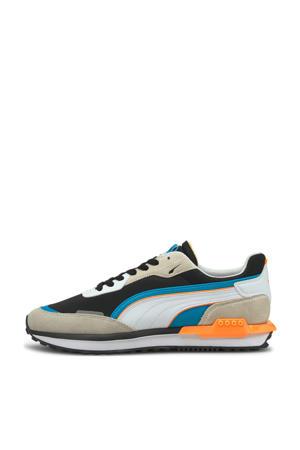 City Rider  sneakers grijs/zwart/blauw
