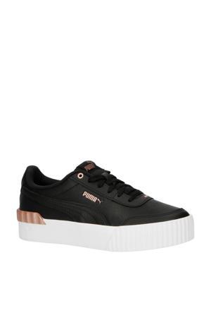 Carina Lift Metallic Pop  sneakers zwart/roségoud
