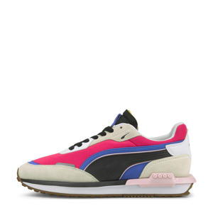 City Rider  sneakers grijs/fuchsia/paars