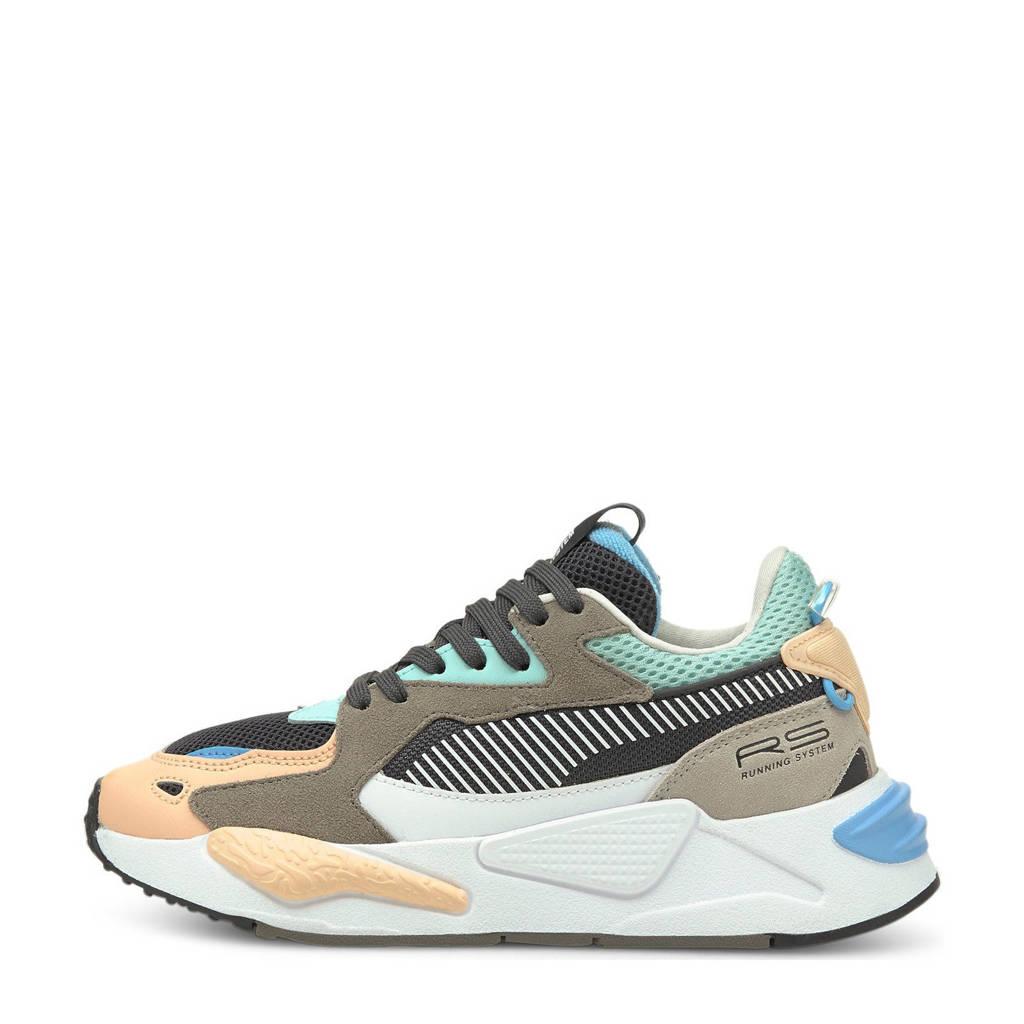 Puma RS-Z  sneakers lichtoranje/bruin/aqua