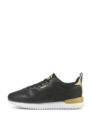 R78 Metallic Pop sneakers zwart/goud
