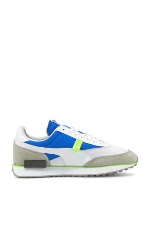 Future Rider Core sneakers wit/kobaltblauw/geel