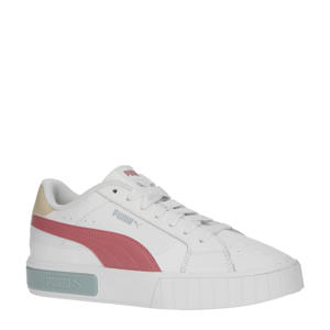 Cali Star  sneakers wit/rood/lichtblauw