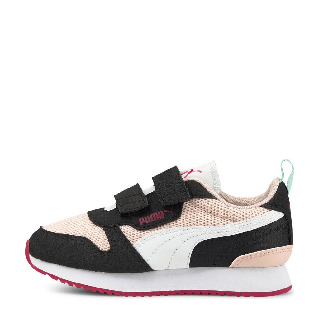 Puma R78 V PS sneakers lichtroze/wit/zwart, Lichtroze/wit/zwart