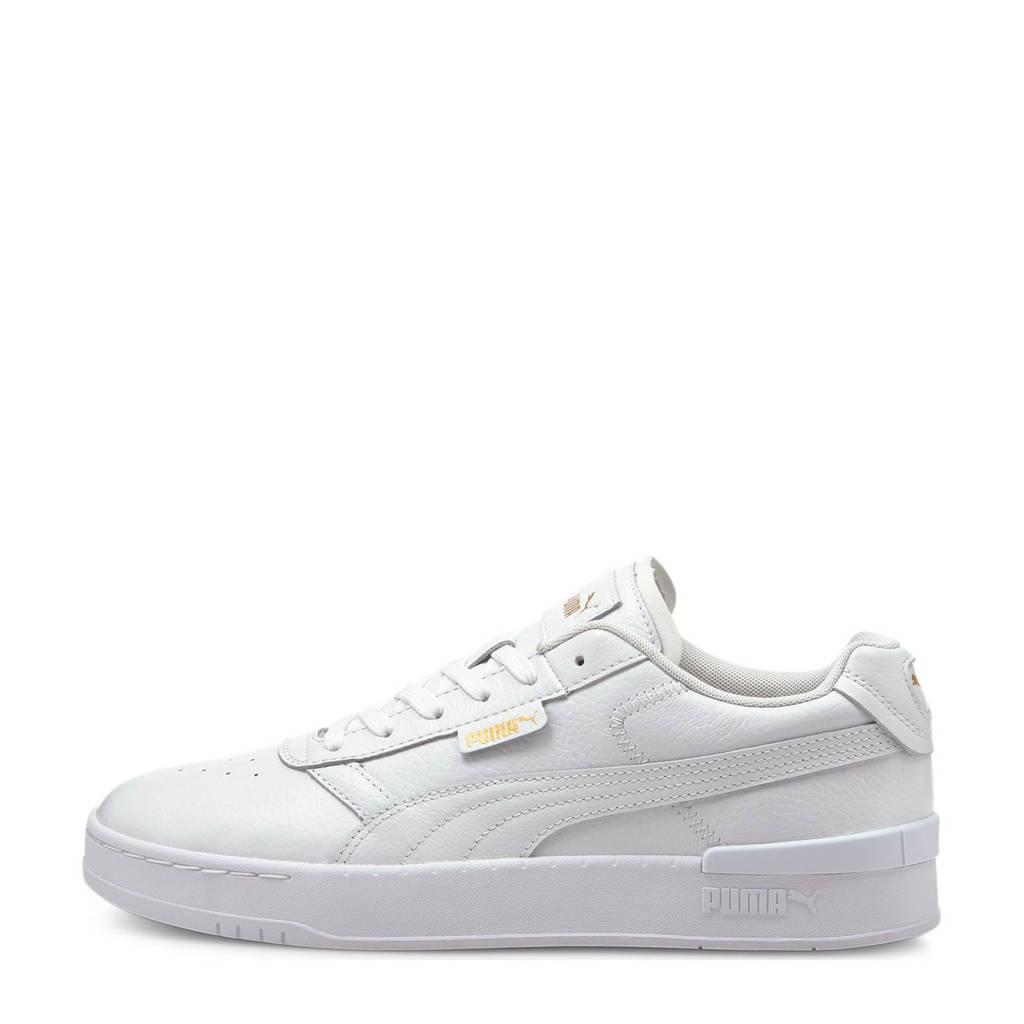 Puma Clasico Premium sneakers wit/goud, Wit/goud
