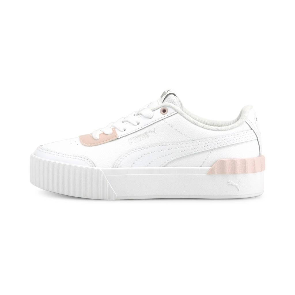 Puma Carina Lift Jr. sneakers wit/lichtroze, Wit/lichtroze