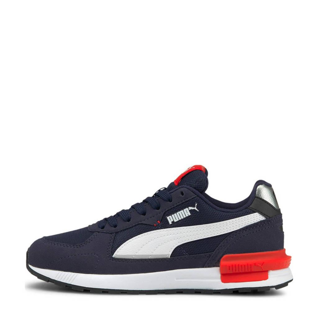 Puma Graviton  sneakers donkerblauw/wit, Donkerblauw/wit