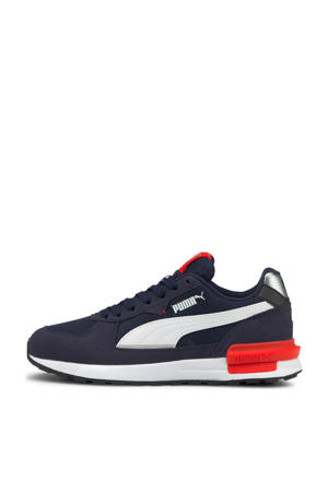 Graviton  sneakers donkerblauw/wit