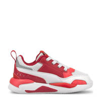 Puma X-Ray 2 Square Jr sneakers rood/wit/roze, Rood/wit/roze
