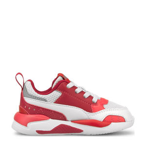 X-Ray 2 Square Jr sneakers rood/wit/roze