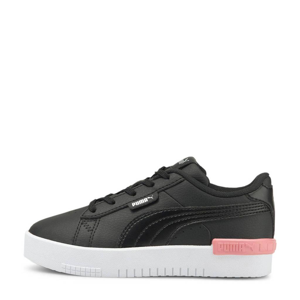 Puma Jada jr  sneakers zwart/roze, Zwart/roze