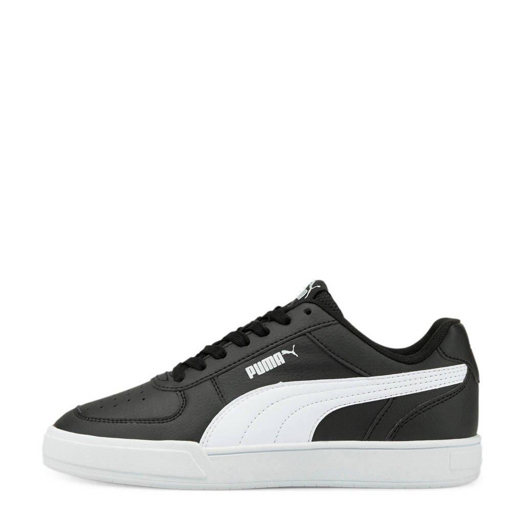 Puma Caven Jr  sneakers zwart/wit, Zwart/wit