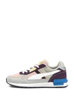 Graviton Pro sneakers grijs/wit/roze
