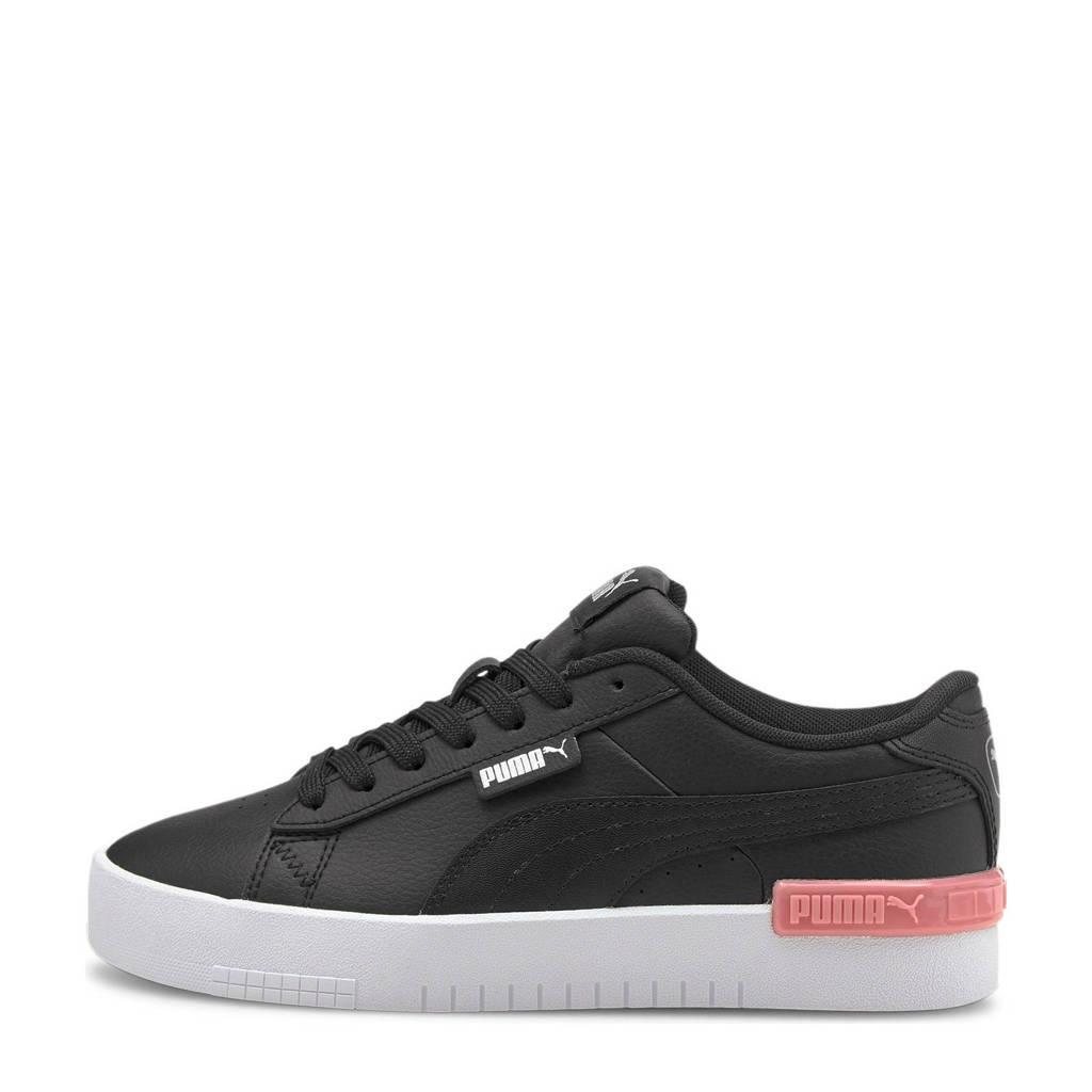 Puma Jada jr  sneakers zwart/roze, Wit/roze