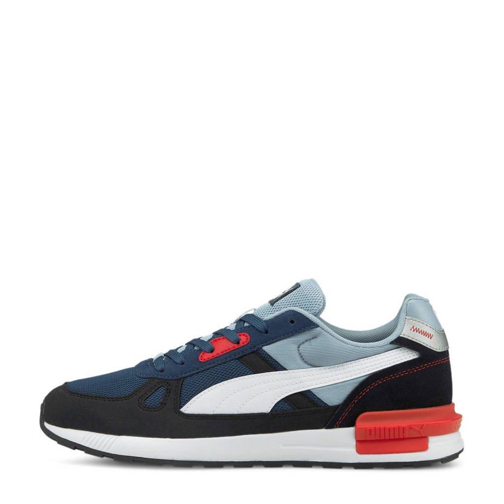 Puma Graviton Pro sneakers donkerblauw/lichtblauw/rood, Donkerblauw/lichtblauw/rood