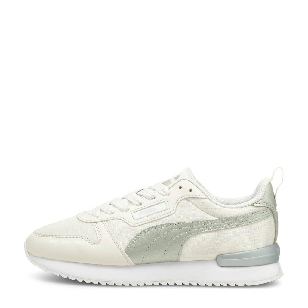 Puma R78 Metallic Pop sneakers ecru/zilver, Ecru/zilver