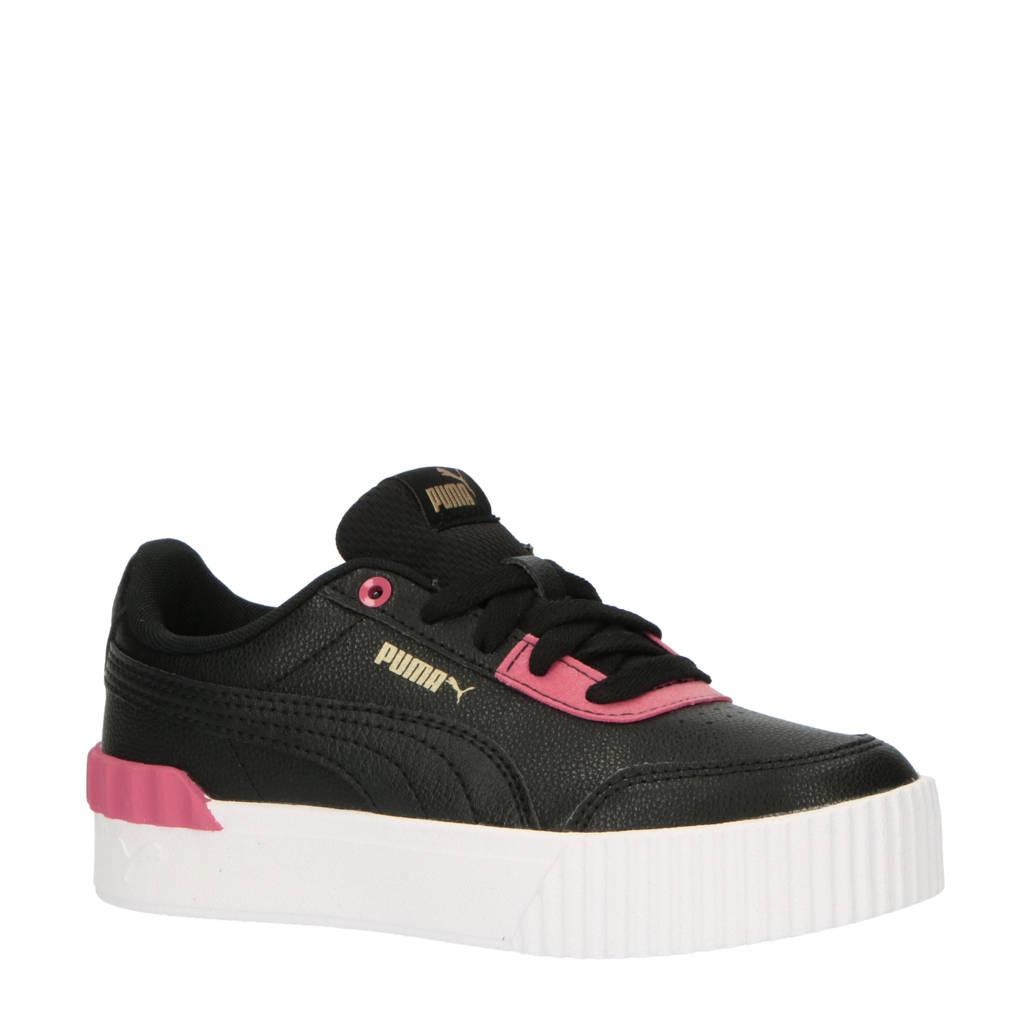 Puma Carina Lift sneakers zwart/roze, Zwart/roze