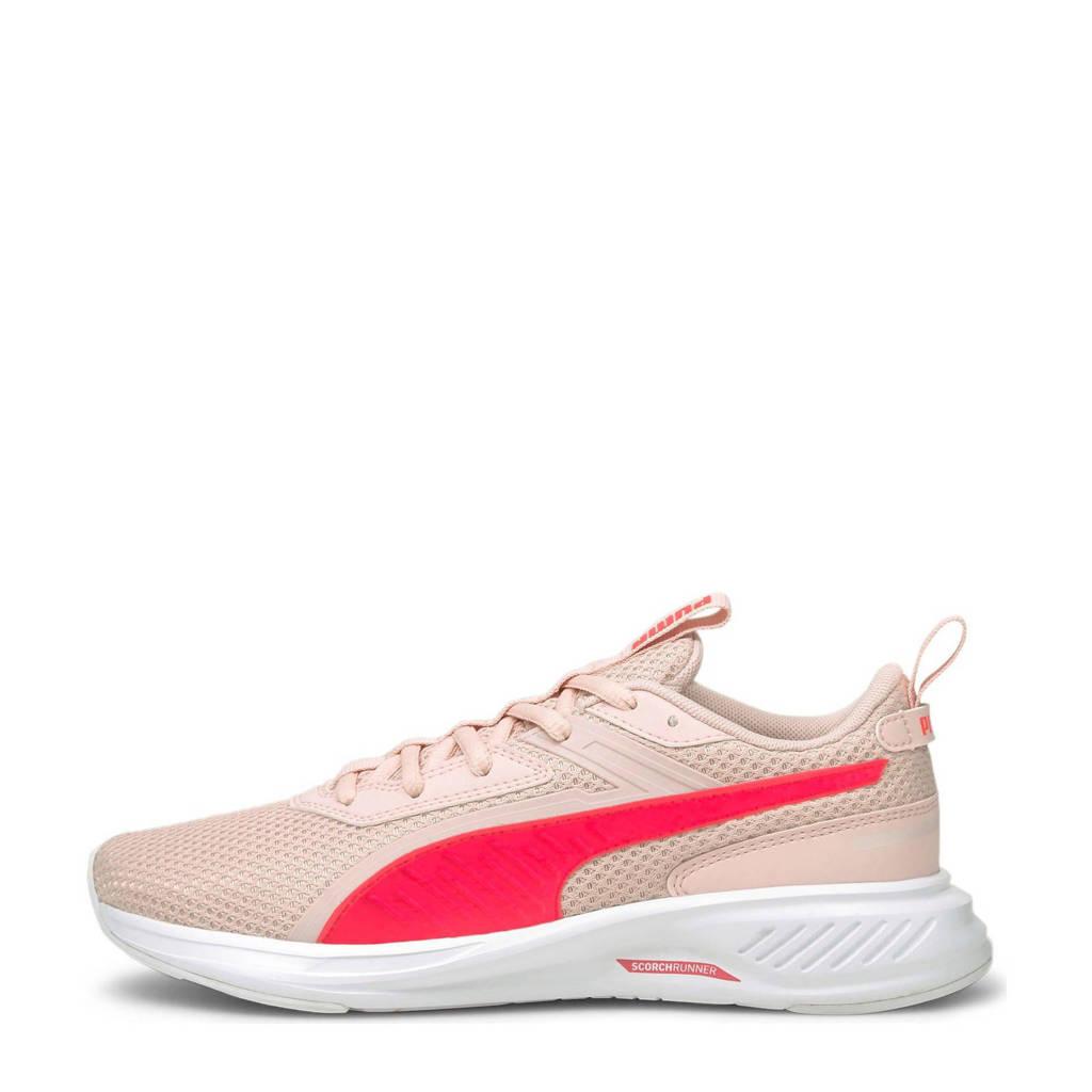 Puma Scorch Runner  hardloopschoenen roze, Roze