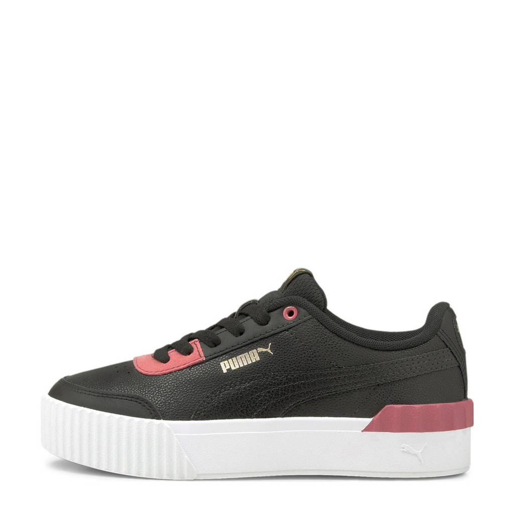 Puma Carina Lift Jr. sneakers zwart/roze, Zwart/roze