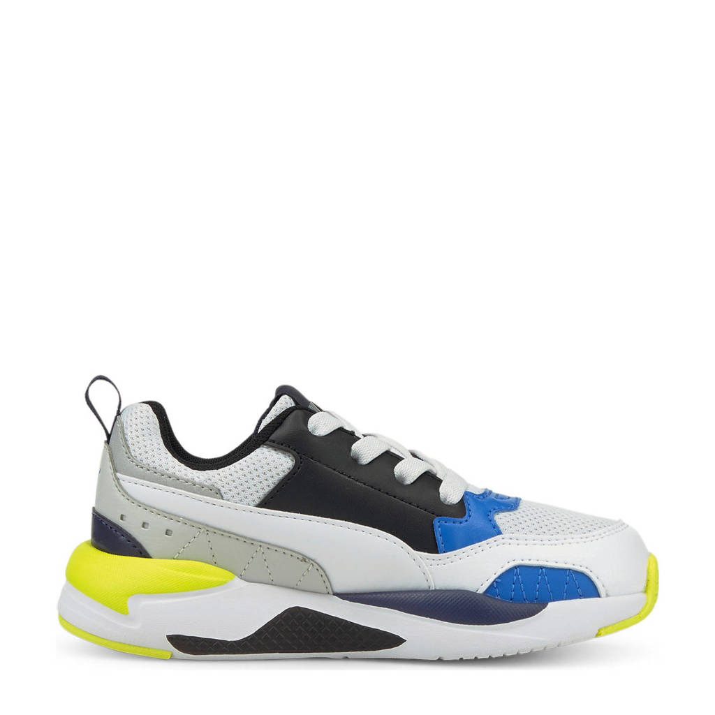 Puma X-Ray 2 Square AC PS sneakers wit/zwart/blauw/geel