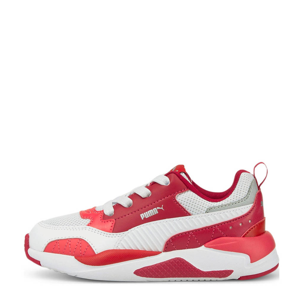 Puma X-Ray 2 Square AC PS sneakers rood/wit/roze, Rood/wit/roze